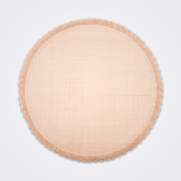 Plantain fiber placemat set product picture.