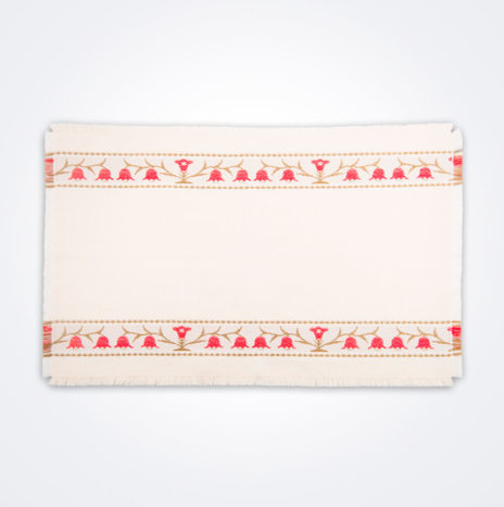 Red Bell Flower Placemat