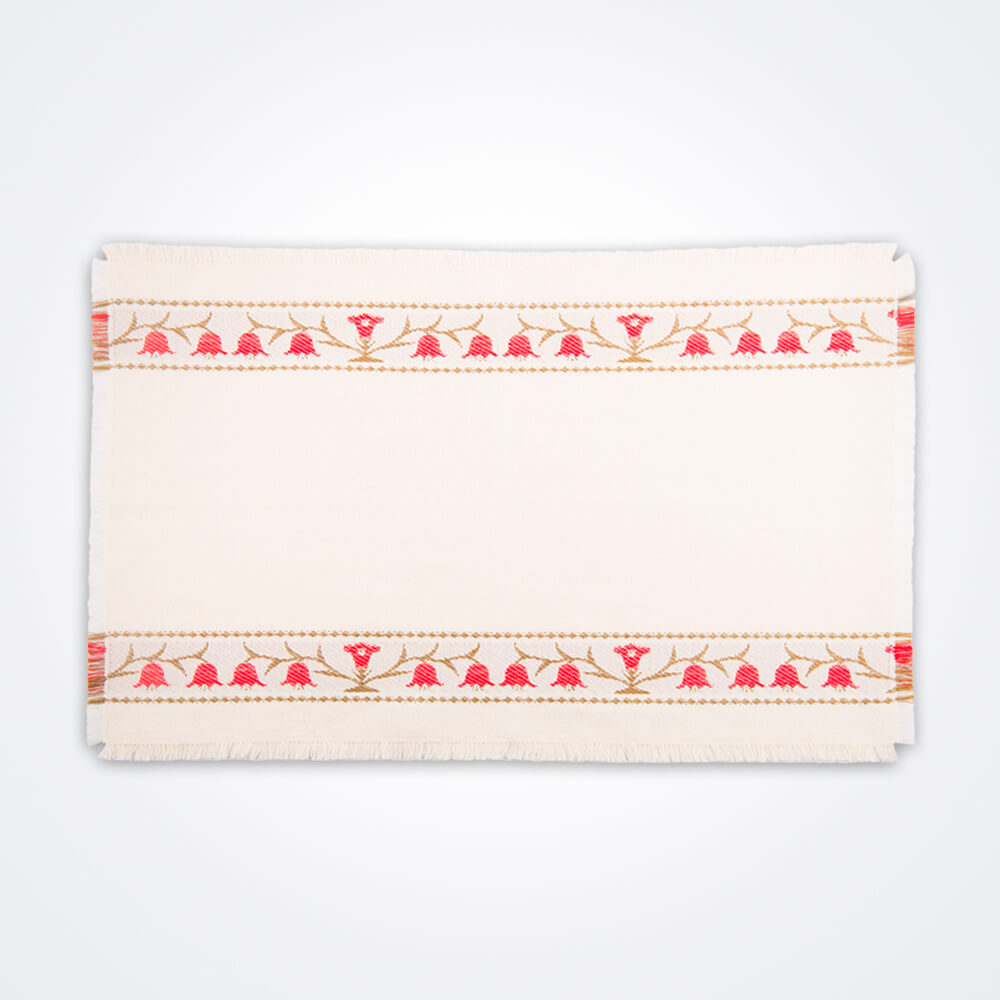 Red-bell-flower-placemat