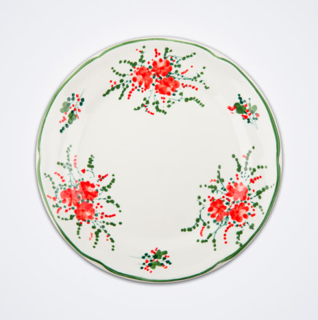 Red Ivy Dinner Plate Set