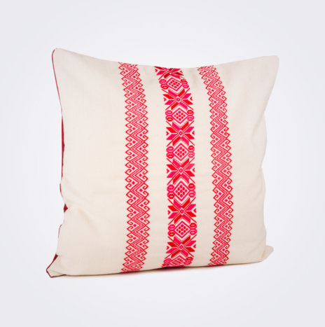 Red Stars & Stripes Pillow Cover