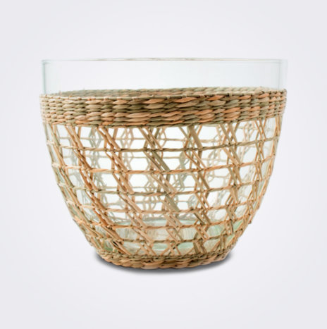 Seagrass Cage Salad Bowl (Large)
