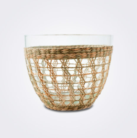 Seagrass Cage Salad Bowl (Medium)