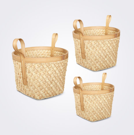 Sobe Basket with Handles Set II