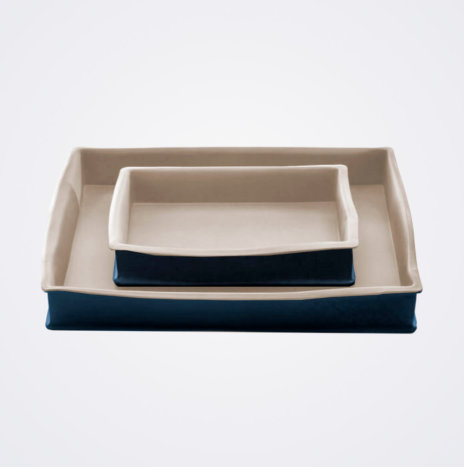 Stoneware Baking Pan Set