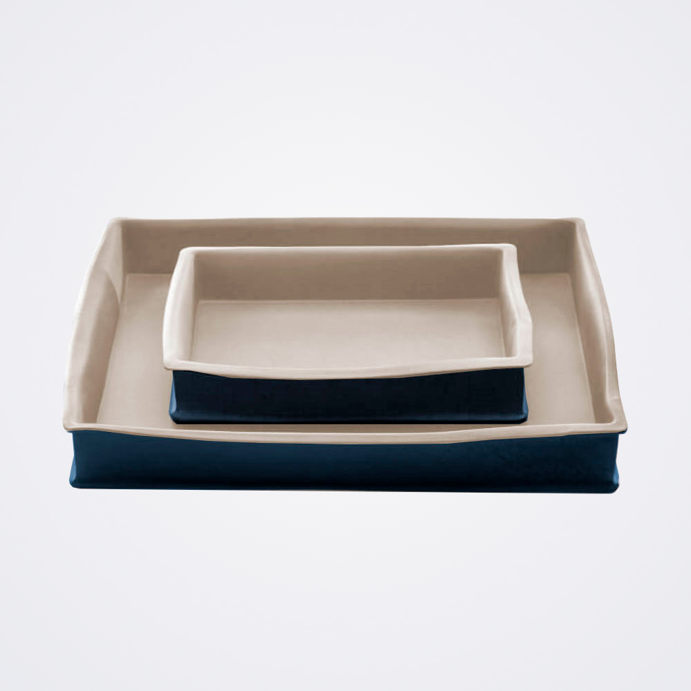 Stoneware-baking-pan-set