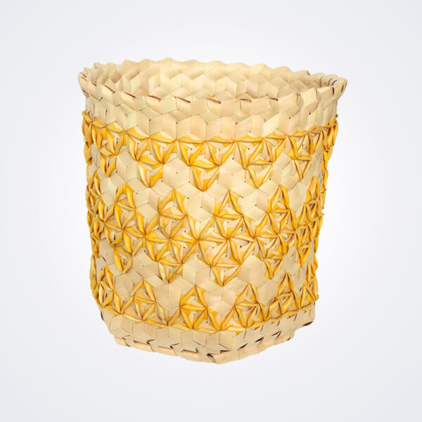 Yellow sobe basket small product picture.