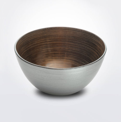 Bombay Copper & Platinum Bowl (Small)