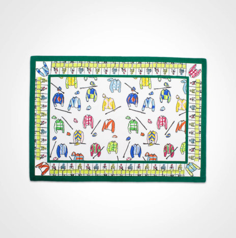 Jockey Silks Placemat Set