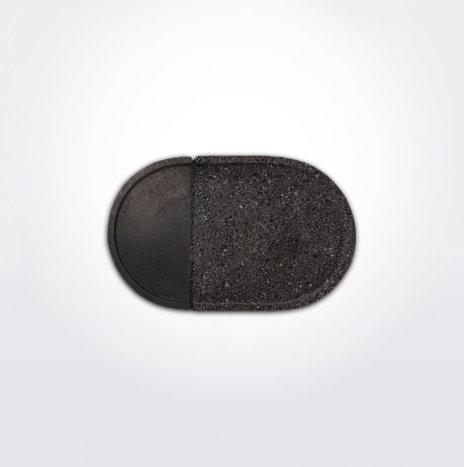 Oval Lava Rock Platter