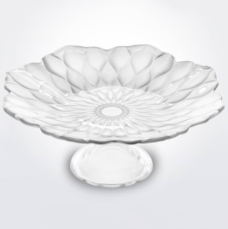 Pearly White Footed Plate