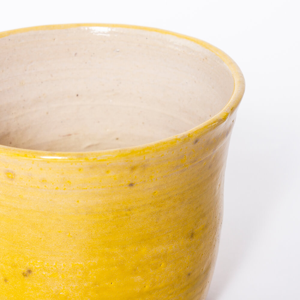 Yellow-ceramic-pot-2