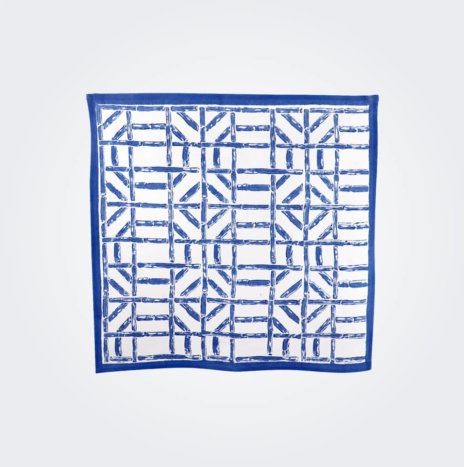 Blue Bamboo Napkin Set