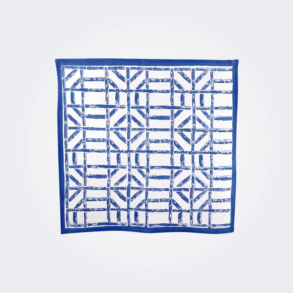 Blue-bamboo-napkin-set