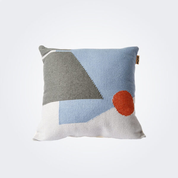 Gloom geometrical pillow cover product picture.