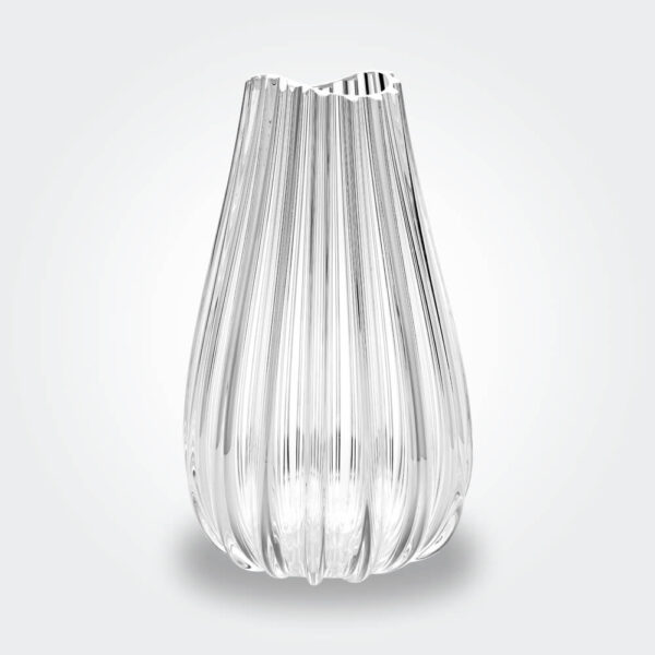 Menhir glass vase product picture.