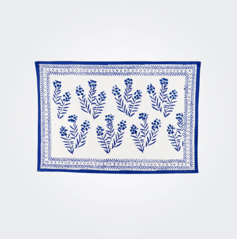 Phlox Blue Placemat Set