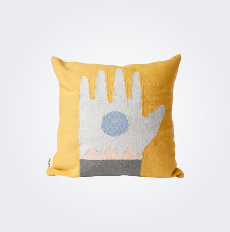 Yellow Ritual Pillow Cover