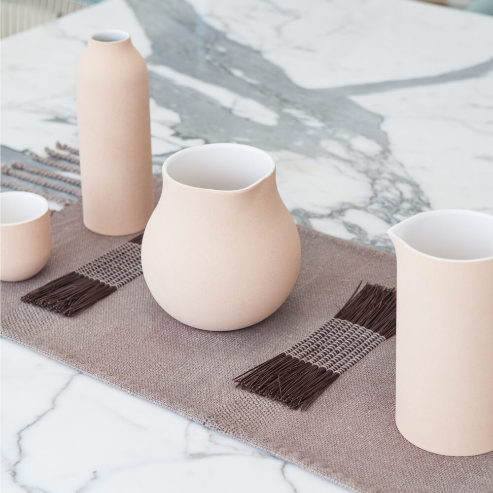 Moriche-brown-table-runner-2