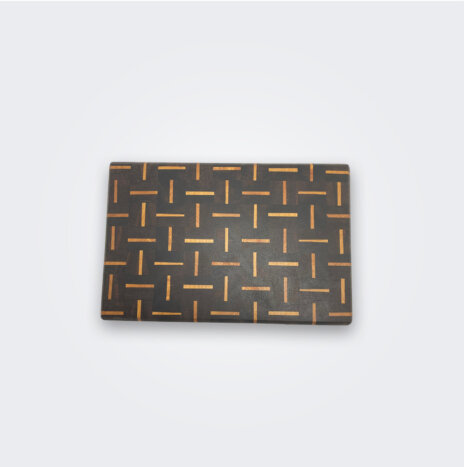 Patterned Wood Cutting Board (Small)