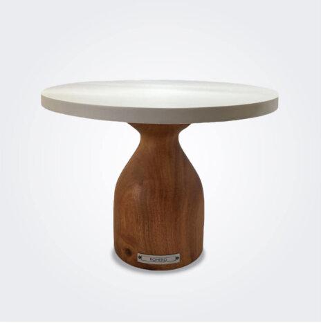 Cinaro Wood Pedestal Cake Stand (Medium)