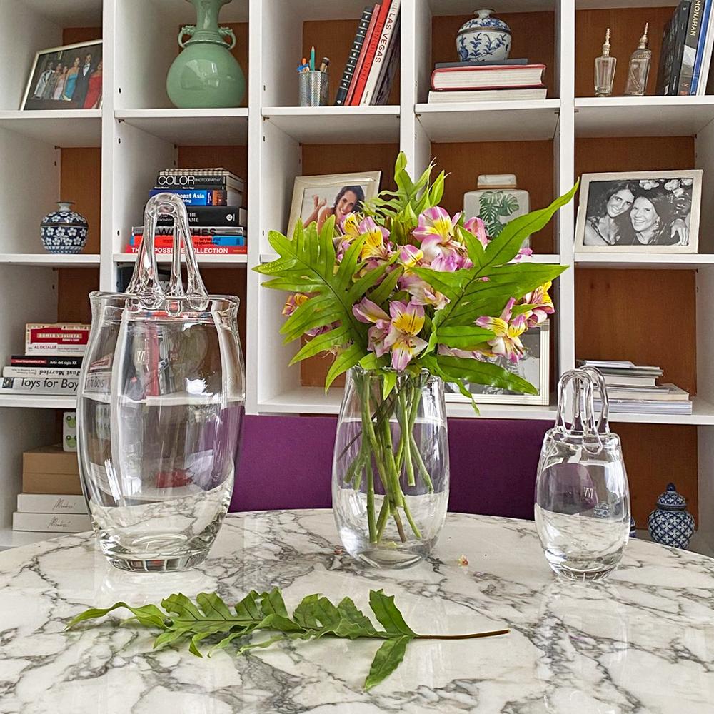 Medium-purse-Glass-Vase