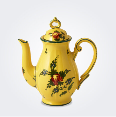 Oriente Italiano Giallo Coffee Pot
