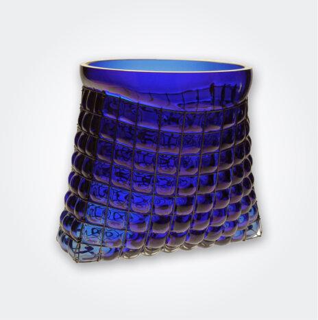 Grid Bag Vase
