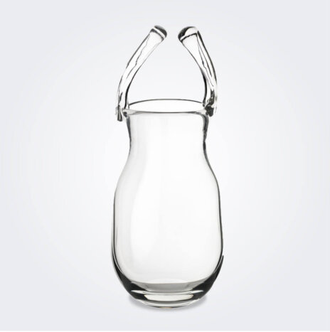 Glass Purse Vase (Big)