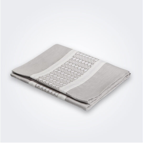 Mexican gray table runner product picture