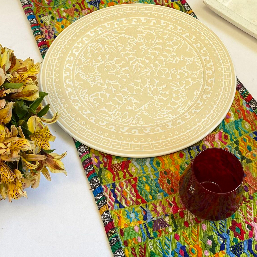 Multicolor-guatemalan-table-runner
