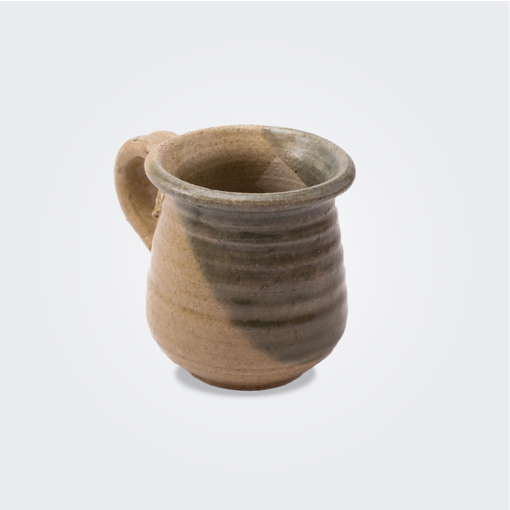 STONEWARE-GREEN-COFFEE-CUP-SET