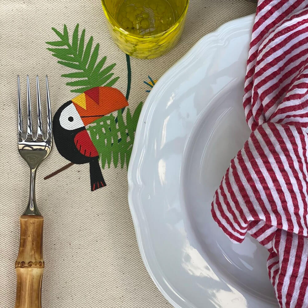 toucan-placemat-set