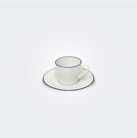 Beja Coffee Cup and Saucer Set