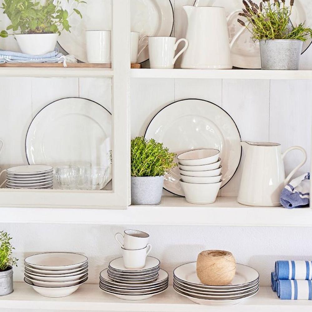 Beja stoneware oval platter ctx