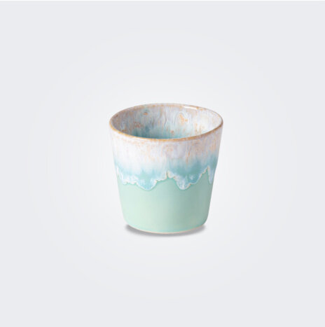 Espresso Light Blue Cup/ Container Set