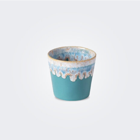Espresso Turquoise Cup/ Container Set