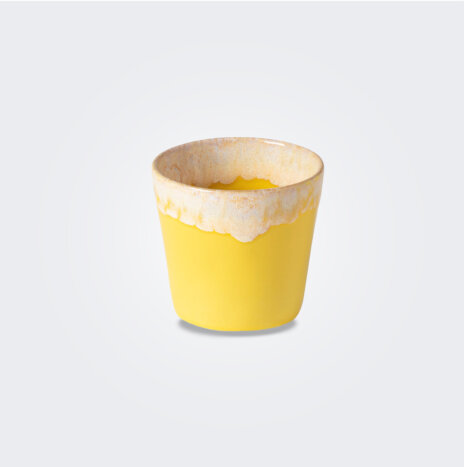 Espresso Yellow Cup/ Container Set