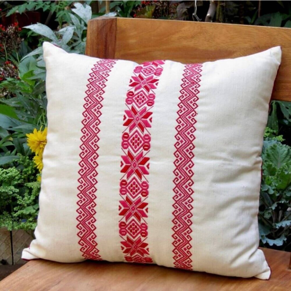 Red Stars and Stripes Pillow Cover 2