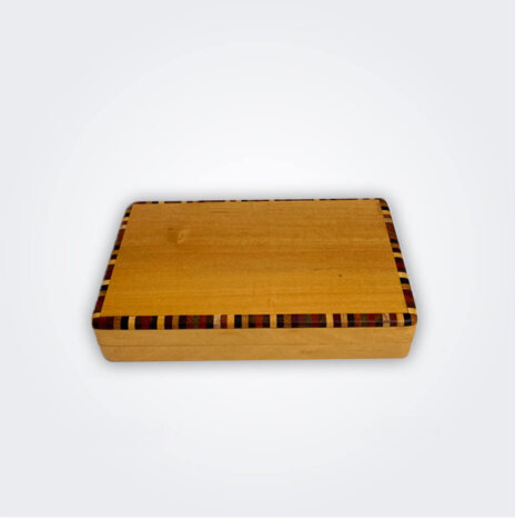 Cocktail Sticks Light Wooden Box