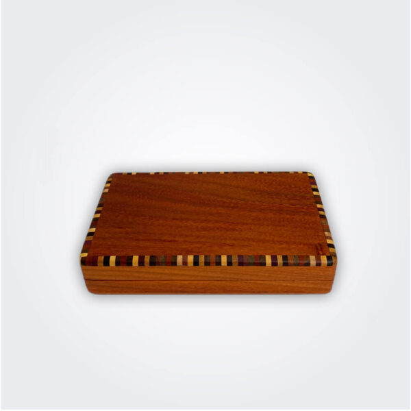 Cocktail sticks mixed wood box product picture.