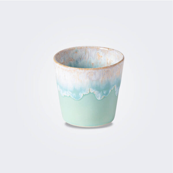 Espresso light blue cup product picture.