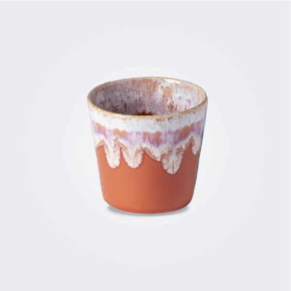 Espresso orange cup product picture.