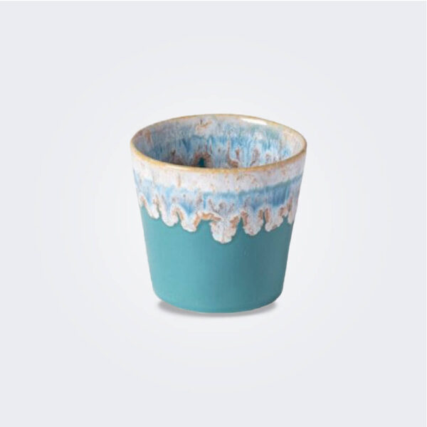Turquoise Espresso Cup/ Container Set product picture.