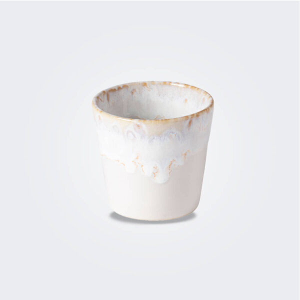 Espresso white cup product picture.
