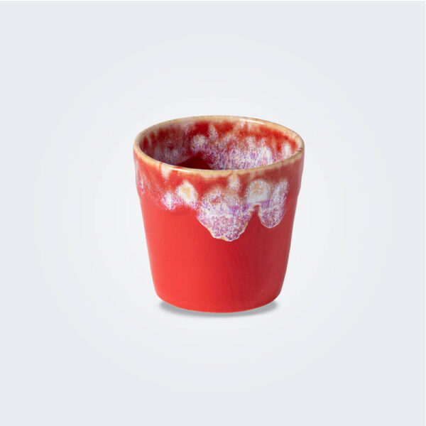 Espresso red cup product picture.