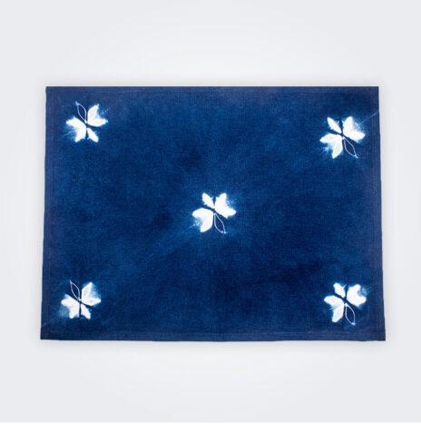 Indigo Tie Dye Placemat Set II