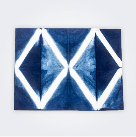 Indigo Tie Dye Placemat Set III