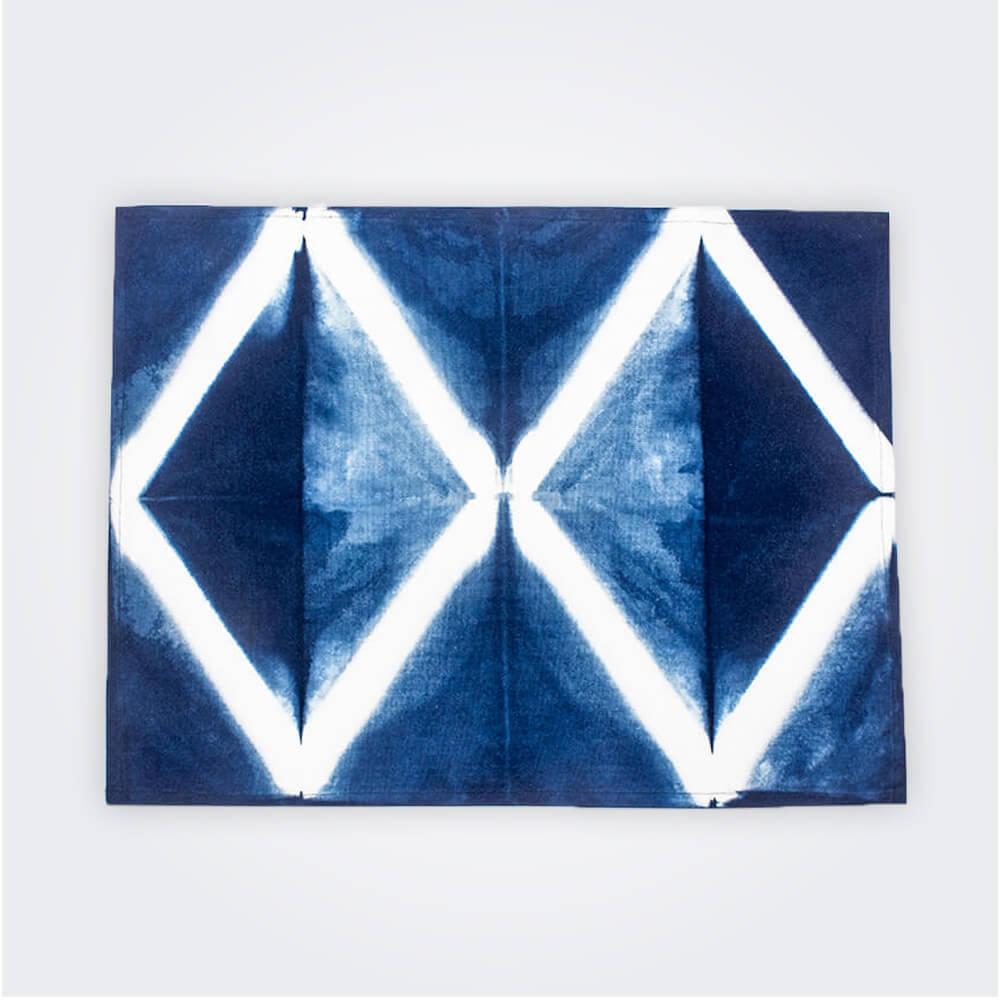 Indigo-tie-dye-placemat-set-iii