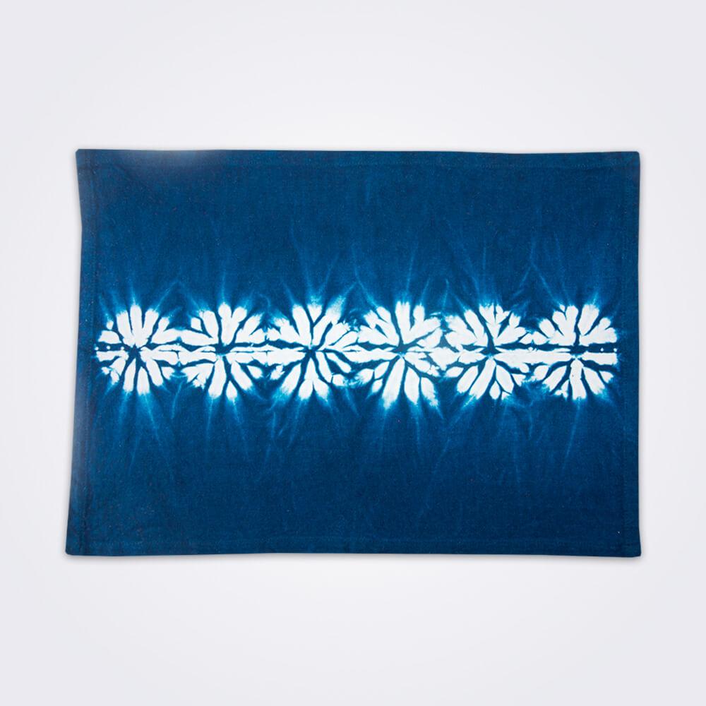 Indigo-tie-dye-placemat-set